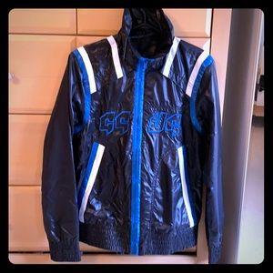 NWT men's GSUS jacket windbreaker fully lined